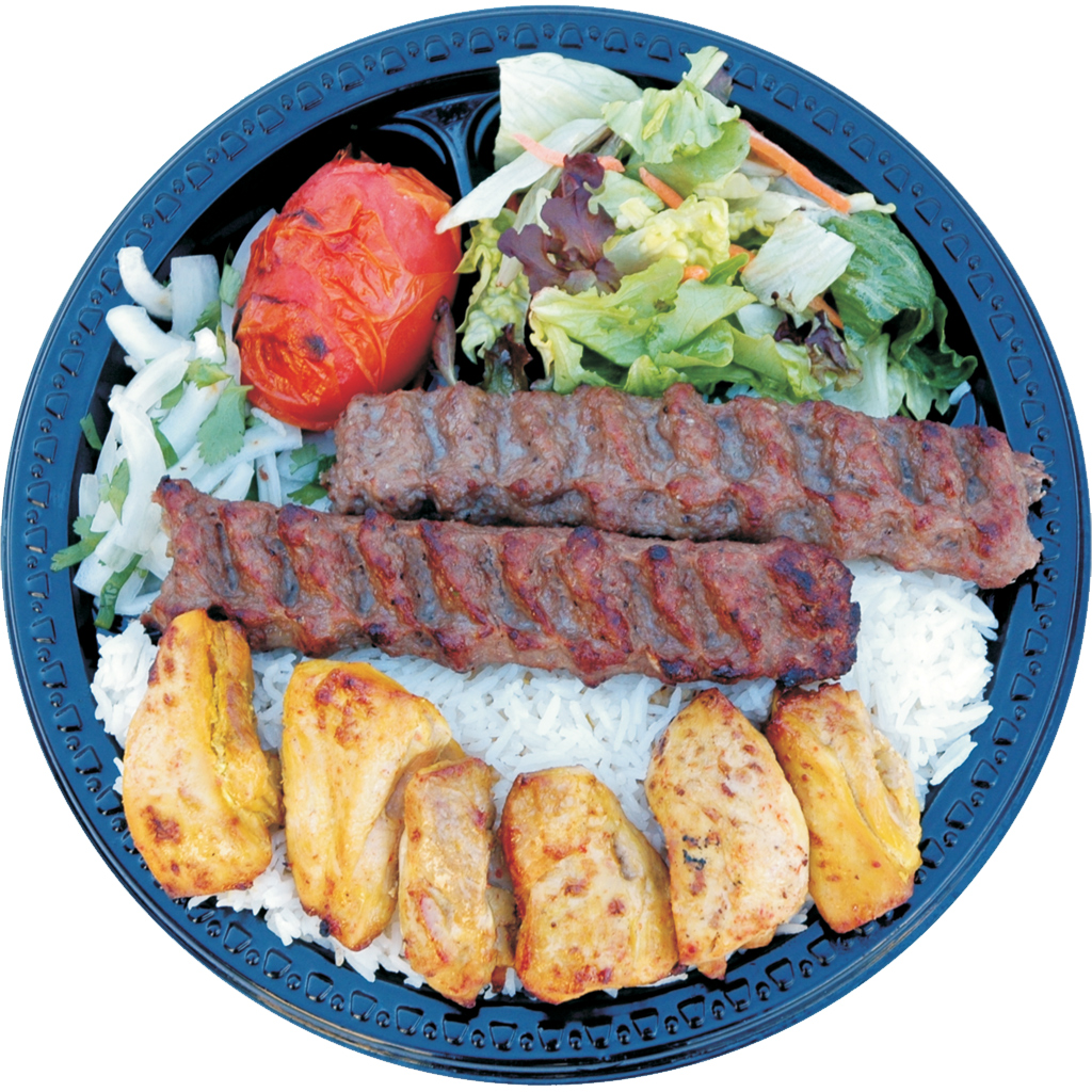 #17 Beef Lula and Chicken Shish