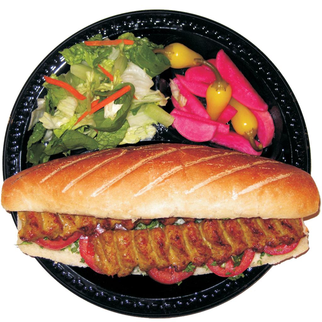 #19 Chicken Lula Kabob Sandwich