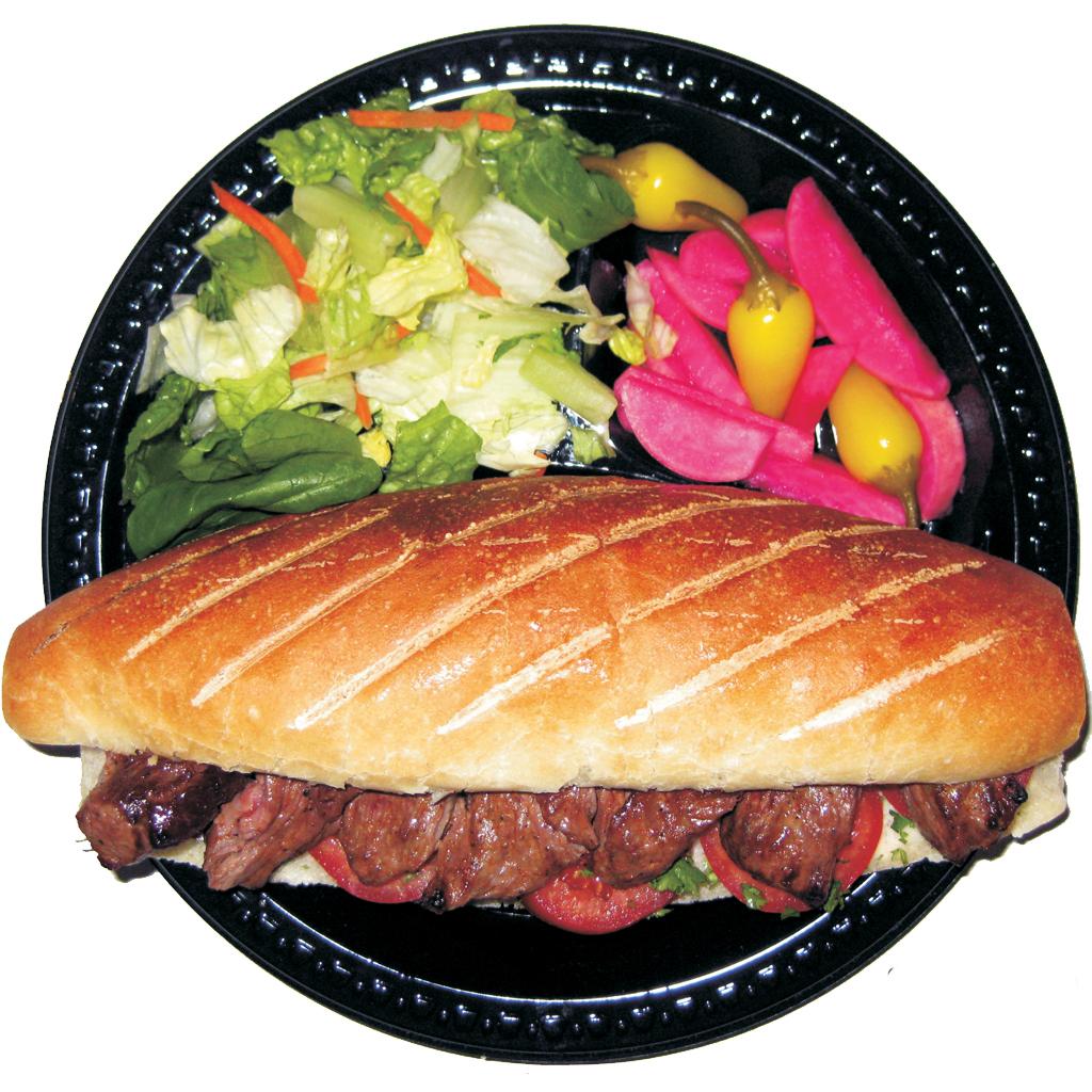 #23 Beef Shish Kabob Sandwich