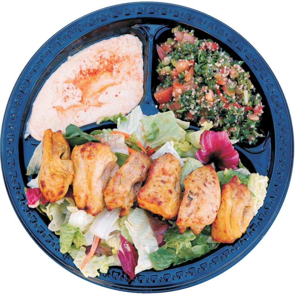 #25 Chicken Shish Kabob Salad
