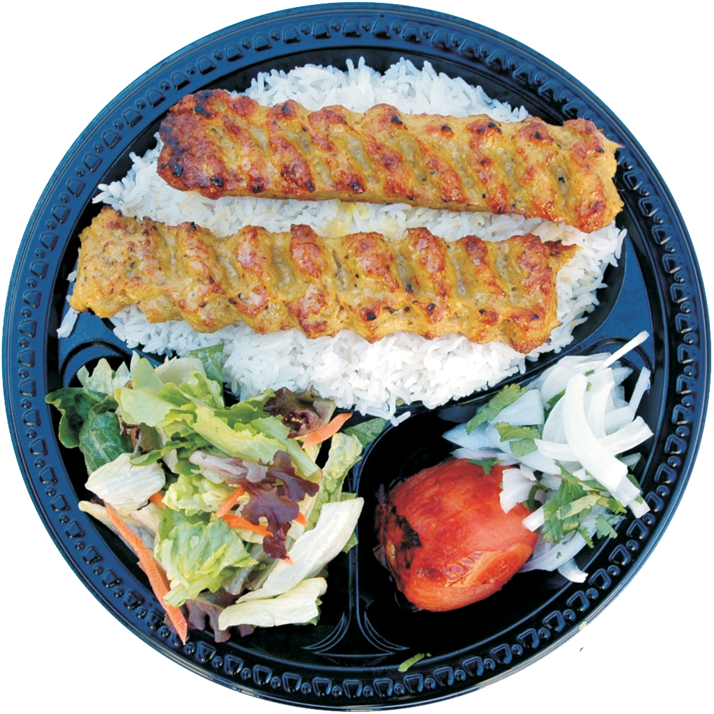 #8 Chicken Lula Kabob